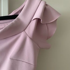 Guess lilac off-the-shoulder dress *like new*